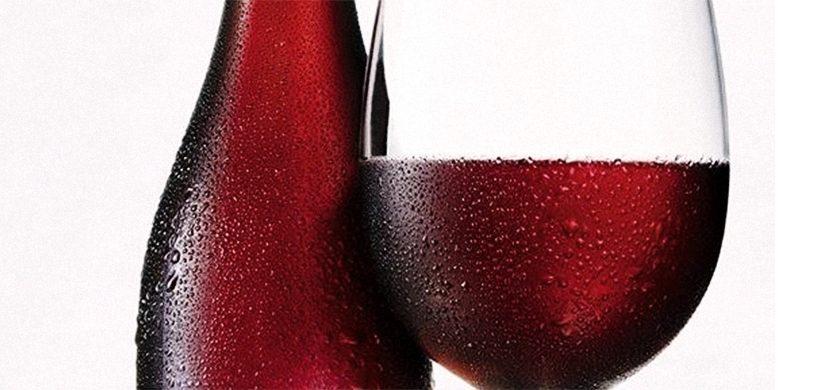 Chladené červené víno