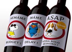 Povedz to vínom - firemné