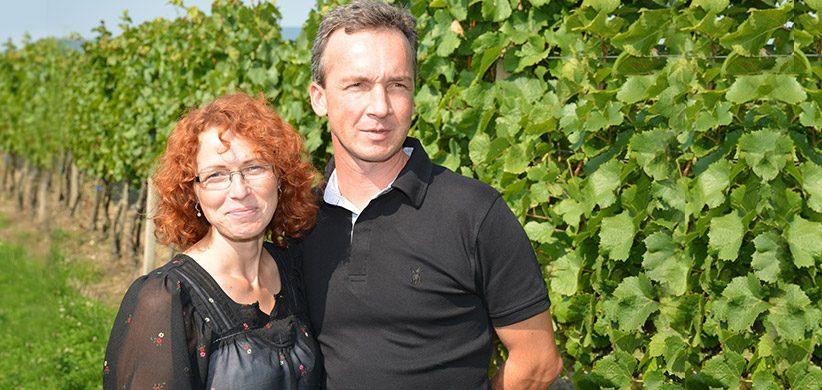 Milan Skovajsa s manželkou Silvikou.
