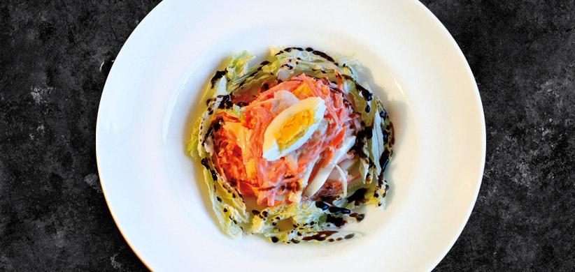 Ľahký mrkvový šalát
