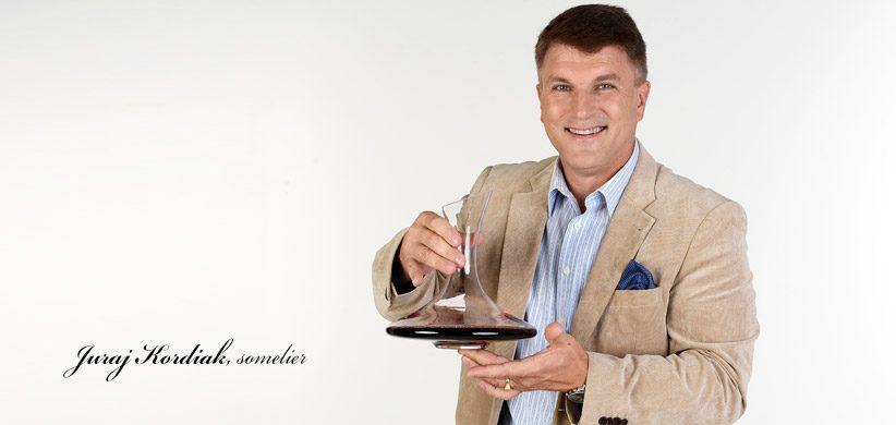 Juraj Kordiak, somelier Vitis Pezinok