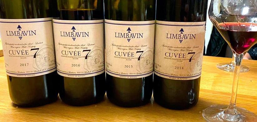 Limbavin - vertikálna degustácia