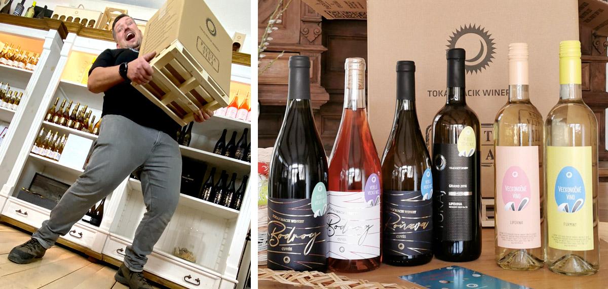Macik Winery - Paleta vína
