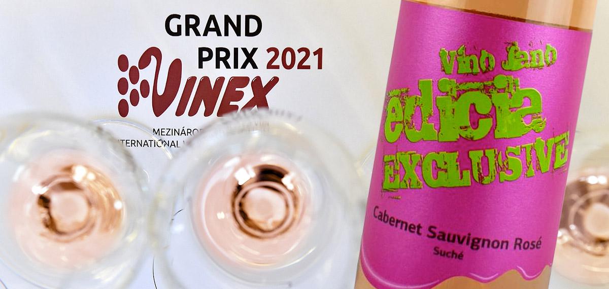 Vino Jano, cabernet sauvignon rosé, Valtice